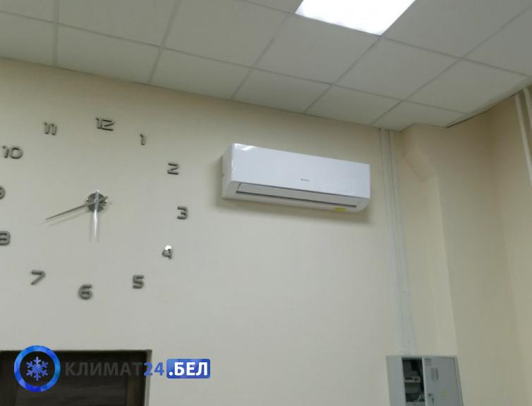 """Монтаж кондиционера в """"2 этапа"""" в помещении                             с высокими потолками"""
