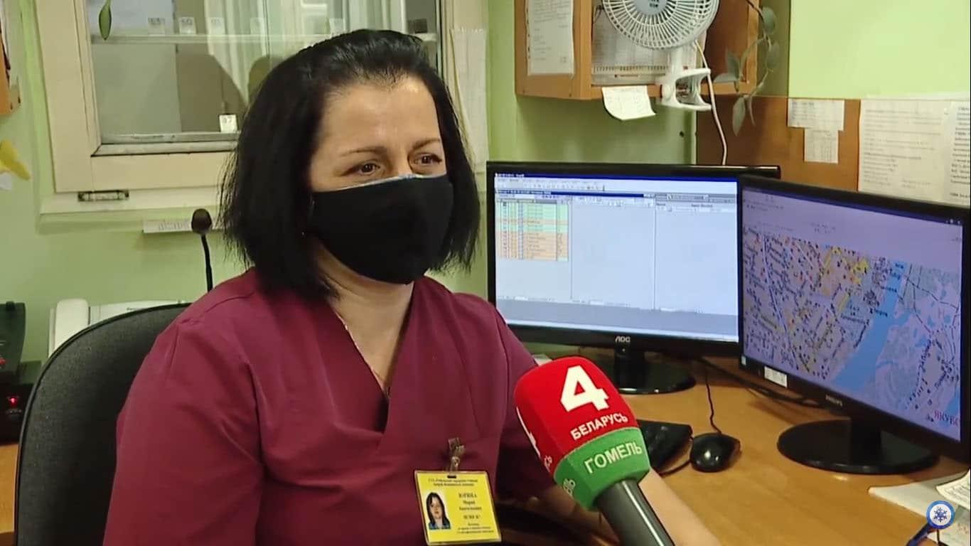 Наша безвозмездная помощь медикам «Скорой помощи» Гомеля
