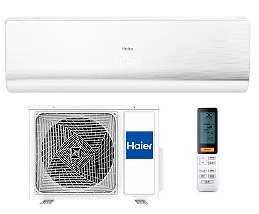 Инверторный кондиционер Haier Lightera Super Match DC Inverter AS09NS4ERA-W/1U09BS3ERA